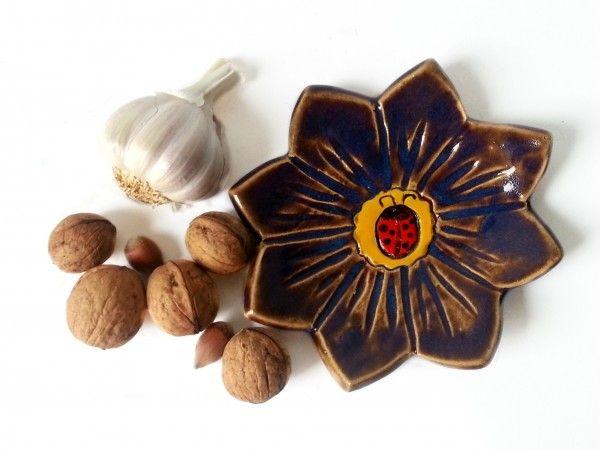 Podstawka ceramiczna kwiat 11
