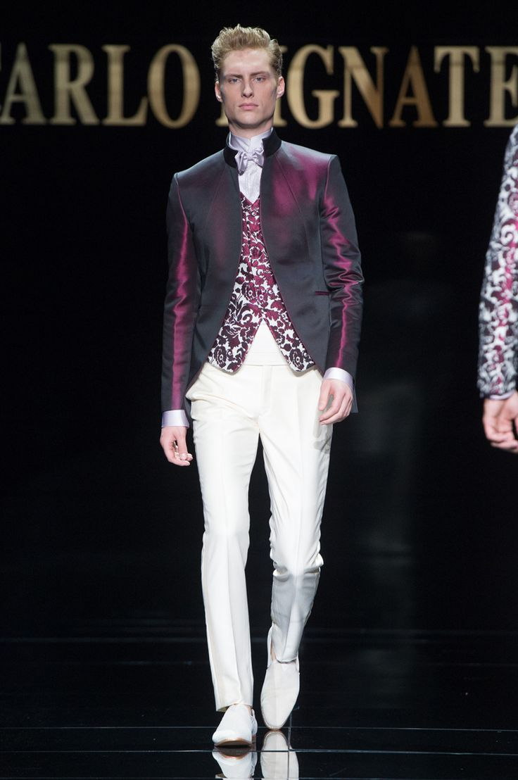 69 best images about embroidery men on pinterest baroque for Haute couture men