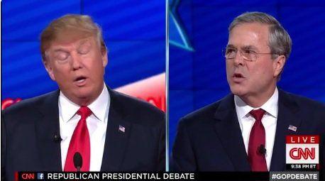 FIREWORKS! Jeb Bush and Trump FIGHT IT OUT at CNN GOP Debate (VIDEO)  Jim Hoft Dec 15th, 2015