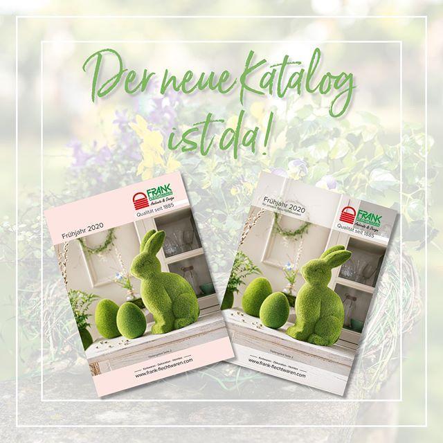 Der Neue Katalog Ist Da Frankflechtwaren Frankflechtwarenblog Blog Ambienteunddesign Dekoliebe Dekof Fruhlings Dekoration Flechtwaren Frank Flechtwaren