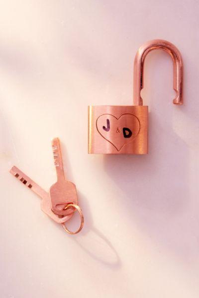 Lover's Lock And Keys