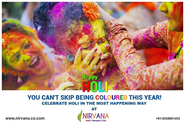 Enjoy the most happening Holi Pool Party at Hotel Nirvana, Ludhiana.This year, you can't prevent yourself from the colour splashout, because its going to be bigger than the biggest Holi Carnival. Unlimited festive culinary delights, drinks, music and fun that you will never forget.  For bookings contact:  0161-529 5000 Visit: http://nirvana.co.com/