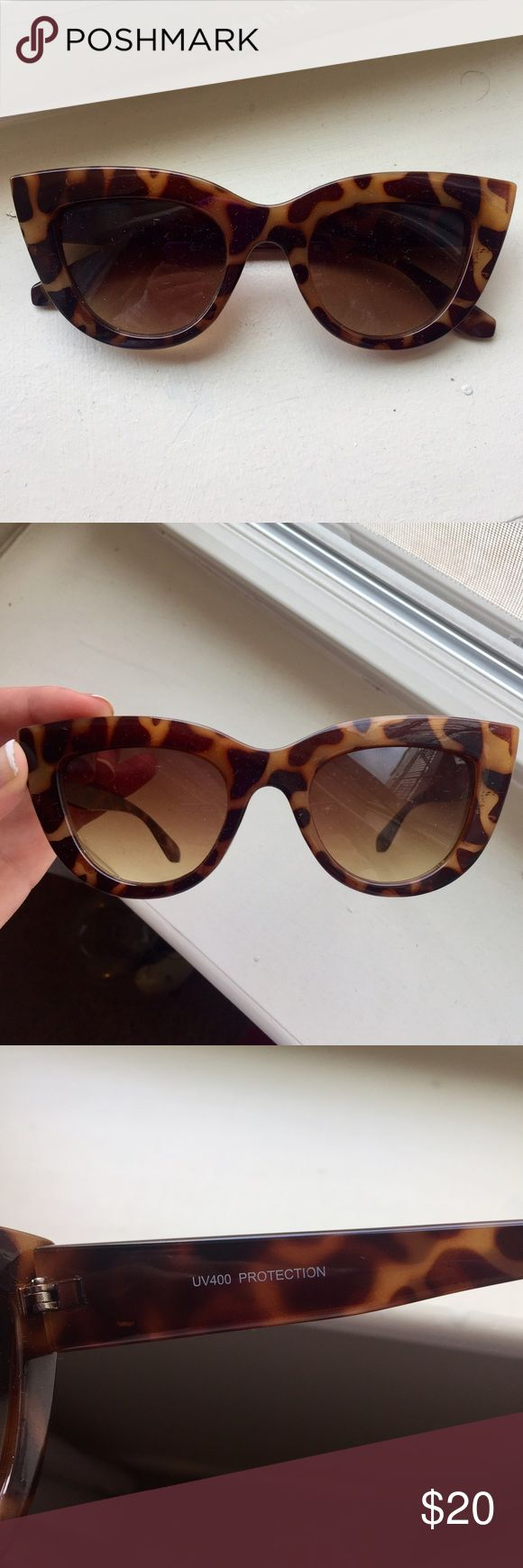 Fake Quay Sunglasses off brand Quay Sunnies, look identitcal to the kitty Quay glasses!! Accessories Sunglasses