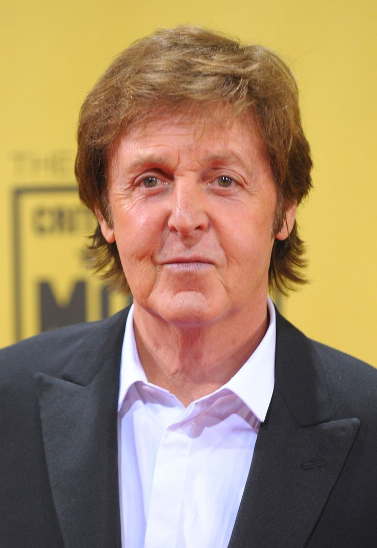 Paul McCartney Dyed Hair Himself With Drugstore Box Coloring