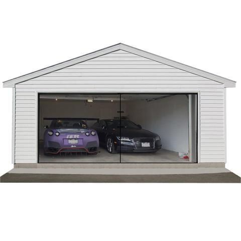 Magnetic Screen Door Garage Door Screen Magzo Screen Door 1000 In 2020 Garage Screen Door Garage Doors Screen Door