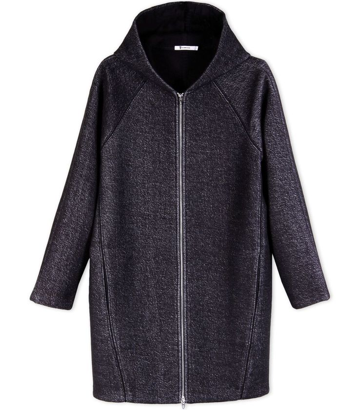 T by Alexander Wang French Terry Hooded Jacket