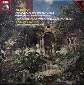 Debussy Images, Prélude A L'Après-Midi D'un Faune Andre Previn London Symphony Orchestra ASD 3804 Winyle Muzyka Klasyczna