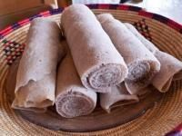 Mock injera.  I served this with Doro Wat.  I may use this with other recipes as well.  Super easy.