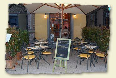 Restaurant Tosca à Lucques