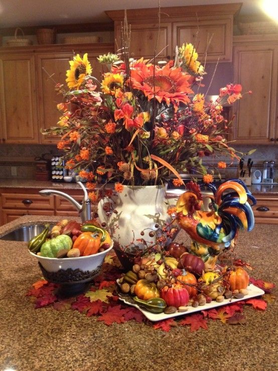 Adventures In Decorating Our Fall Kitchen: 38 Best Fall Kitchen Decor Ideas Images On Pinterest