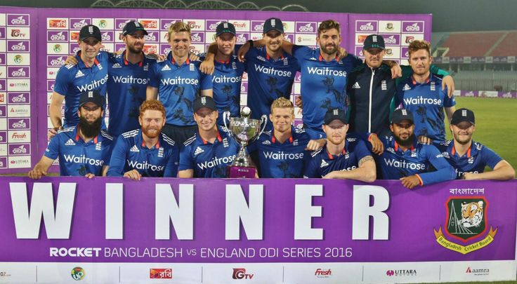 Cool England clinch series