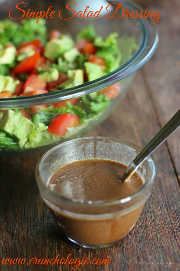 Best Salad Dressing! Fast AND delicious.    www.crunchologie.com