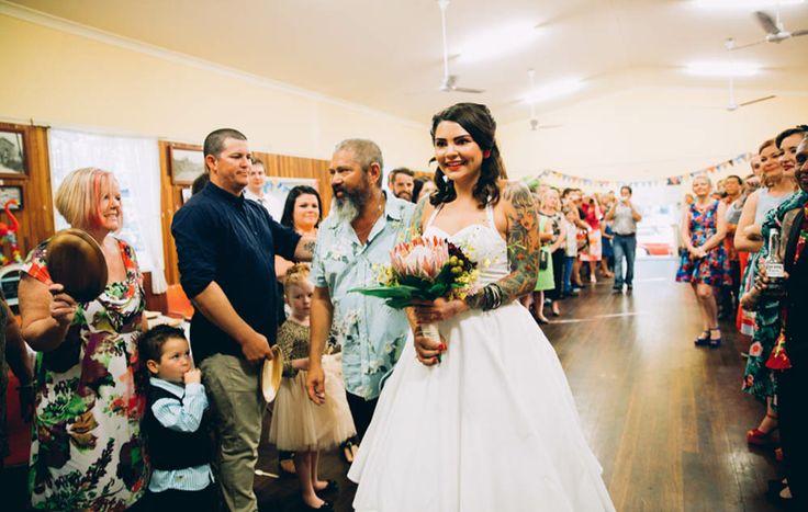 HOORAY! magazine - Alison + Dean #bride