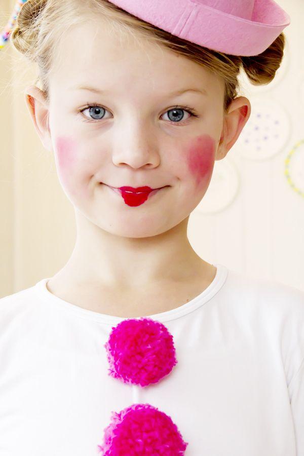 sweet clown makeup