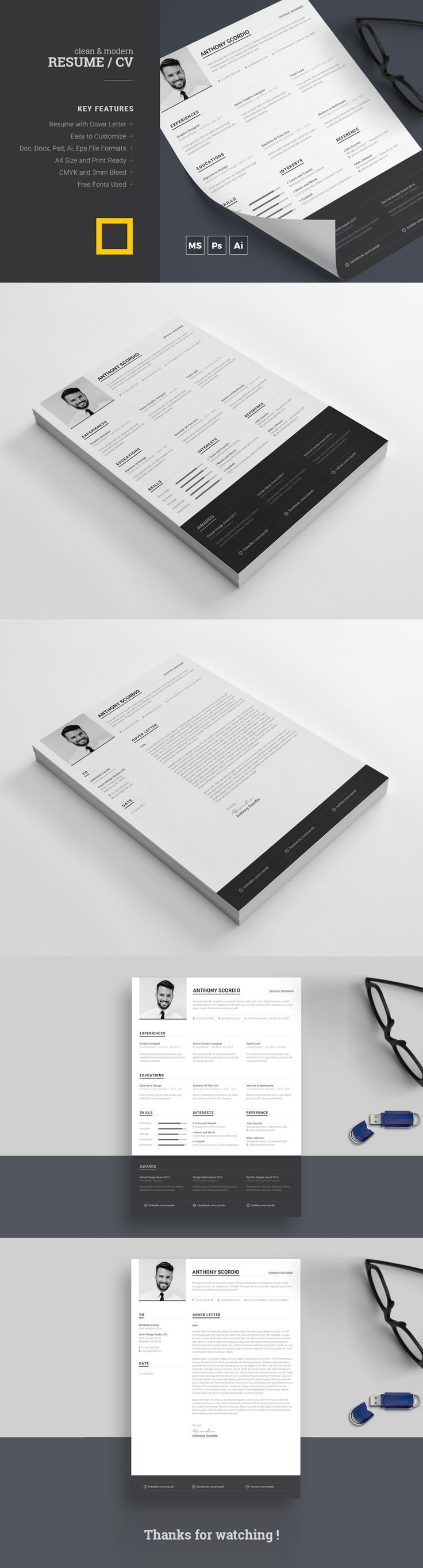 cosmetologist resume%0A This Modern  Clean and Minimal Resume with strong typographic structure is  very easy to use