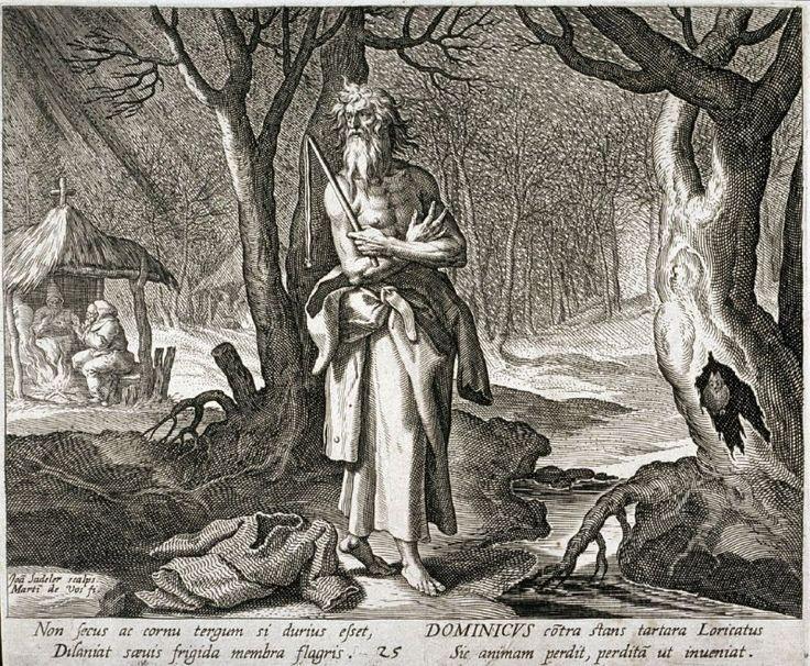 Saint Dominic de la Calzada, no. 25 from Trophaeum Vitae Solitariae (Lives of the Hermits)