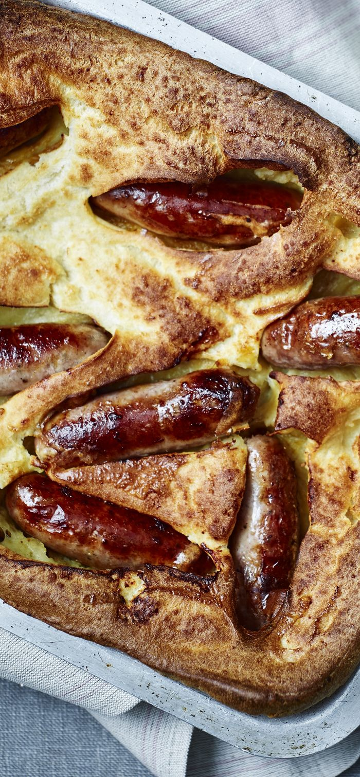 Toad-in-the-hole is a British classic and a great budget recipe!