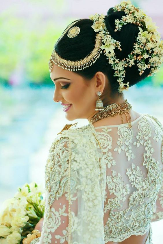 54 best Indian Bridal Hairstyles images on Pinterest