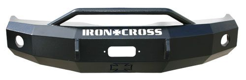 22-615-09 - 2009-2012 Dodge Ram 1500 Front Bumper with Push Bar | Iron Cross Automotive