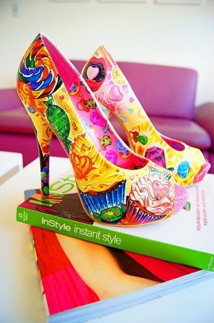 Candyland Heels <3