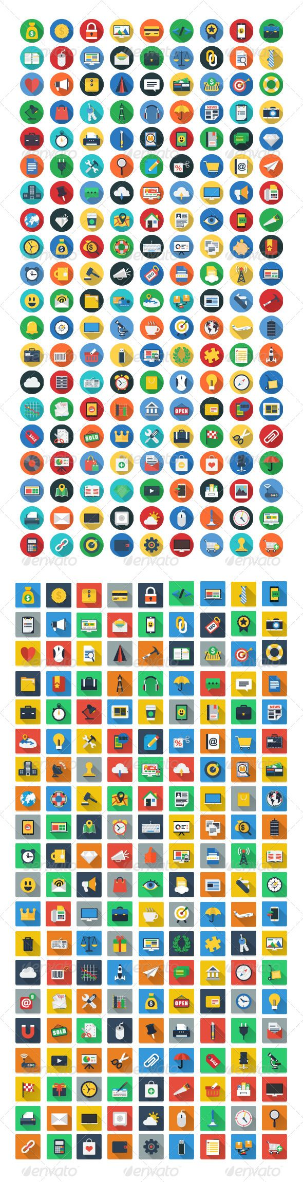 200 Flat Icons   	Mobile marketing, app, app development, business, colorful, communication, computer, cross platform, development, flat icon, flat icons, flat icons set, glyphs, graphics, icon, icons, icons flat, interface, internet, line, long shadow, mac, media, modern, responsive, seo icons, social media, social network, stroke, web