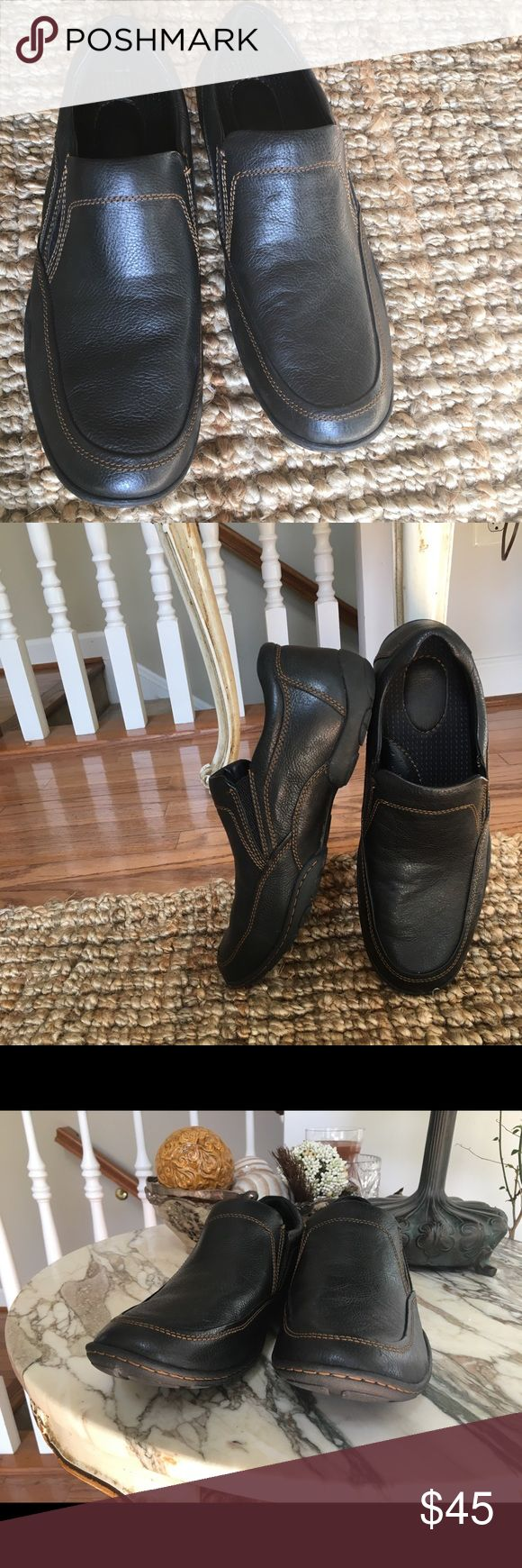 Born Luis Black Loafers size 13M Born Luis Loafers size 13 M style H13703 in great used condition. Born Shoes Flats & Loafers