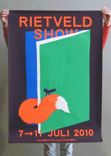 rietveld graduation poster