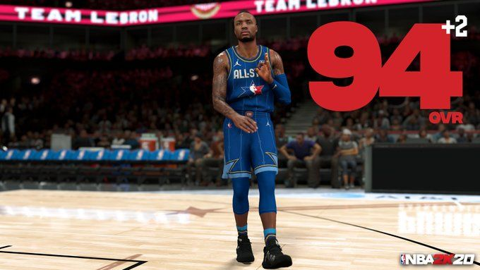 Nba 2k20 Ratings Update 5 Biggest Winners Are Damian Lillard And Zion Williamson In 2020 Nba All Star Williamson