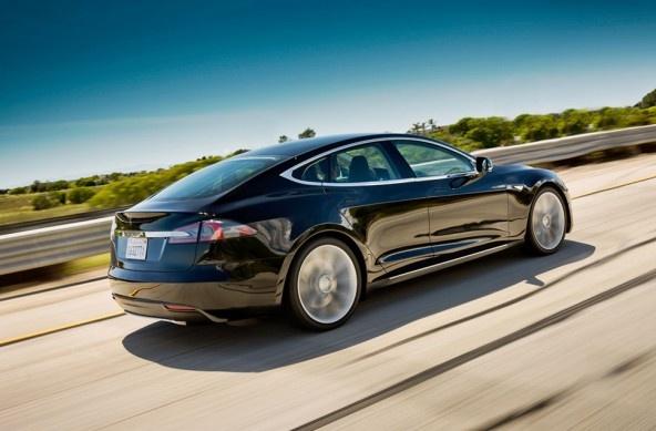 Limousine von Tesla: Sedan S