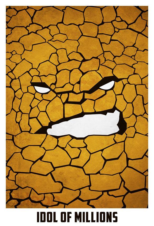 minimalistic-superhero-illustrated-posters