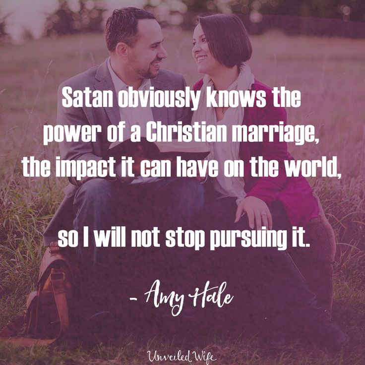 A Healthy Marriage That Points To Christ Actually Scares Him