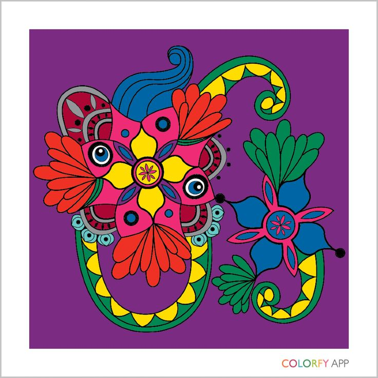 My First Exotic Creation Colorfy Color PalettesExoticColoring BooksApp ColorsBeautifulWorldColor