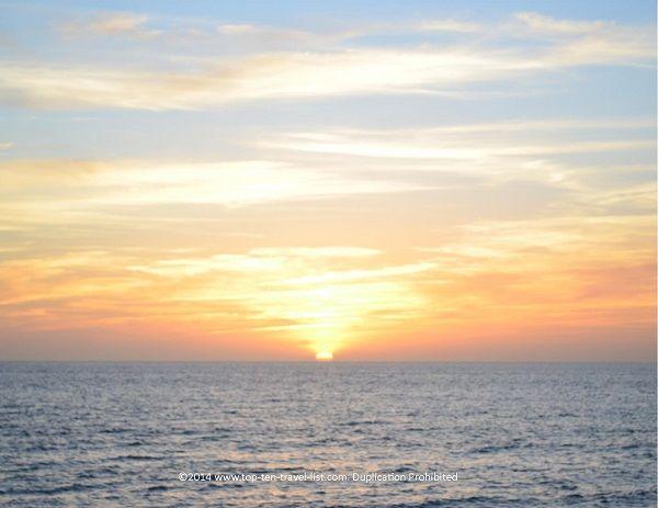 A beautiful sunset at Venice Beach #Florida #beach #sunset