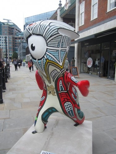 Explore London with these weird Olympic mascots.. i wish there were a hipster one!!