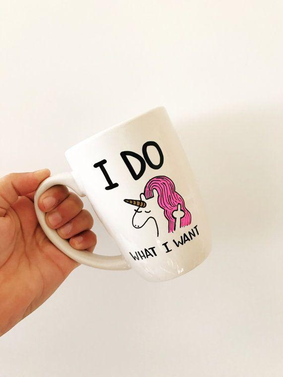Unicorno Mug tazze divertenti divertenti tazze di caffè