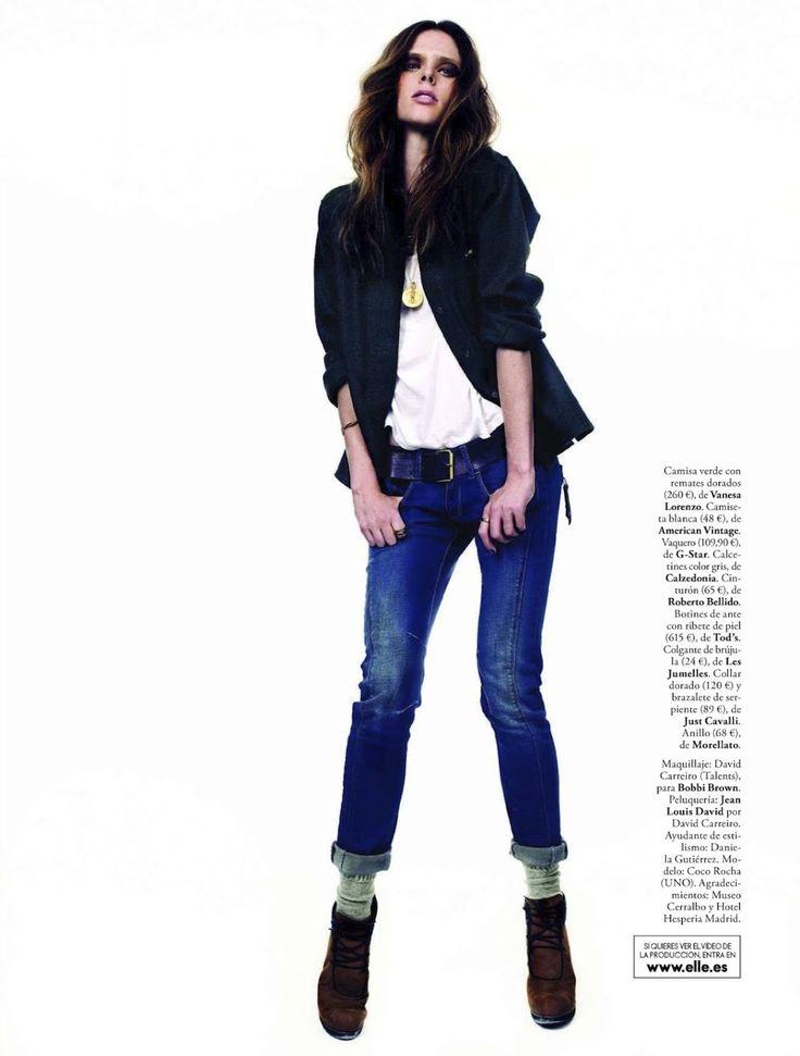 ☆ Coco Rocha | Photography by Juan Aldabaldetrecu | For Elle Magazine Spain | September 2012 ☆ #Coco_Rocha #Juan_Aldabaldetrecu #Elle #2012