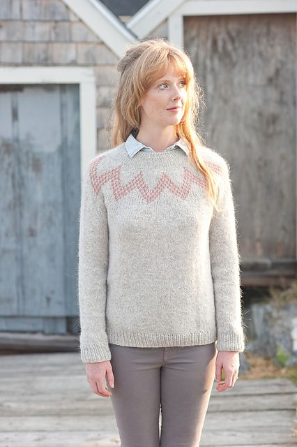 Ravelry: Willard Fair Isle Pullover pattern by Hannah Fettig