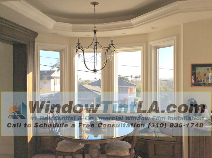 Clear UV film for homes