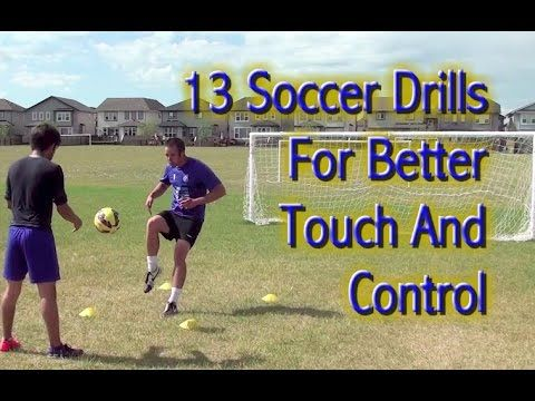 Let's improve your touch, footwork, ball control, and confidence with these drills - https://www.youtube.com/watch?v=lft7AfeFIuQ - SHARE and TAG a friend to try these with.