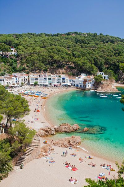Costa Brava: Tamariu, Catalonia, Spain