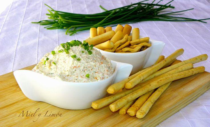 Miel y lim n pat de palitos de cangrejo aperitivos for Canape de cangrejo