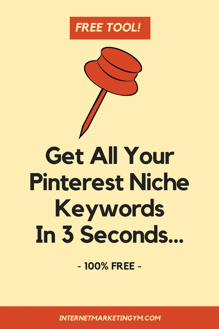 My Pinterest SEO Keyword tool is out and it's yours for the taking 100% FREE. It finds the keywords for you niche that matter most!