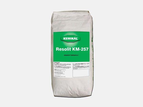 RESOLIT ® KM 257 Vízzáró Szárazhabarcs  6630.-/25kg