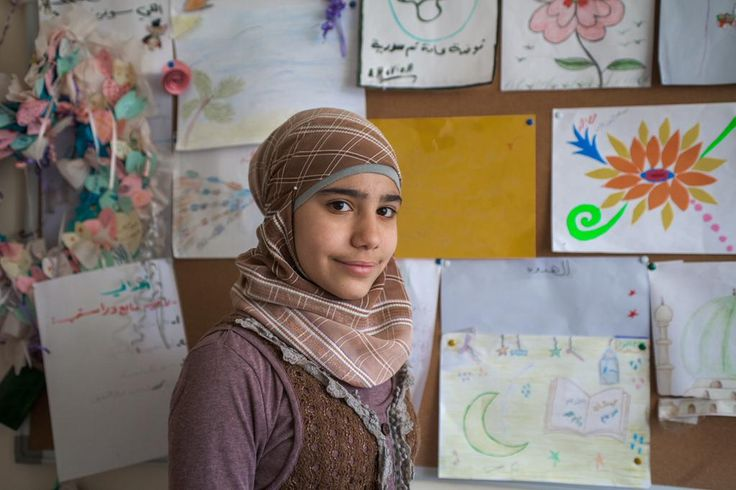 Marah, 14, fled the Syrian conflict and today is fighting to stay in school. Read her story: http://bit.ly/1OuPRGN