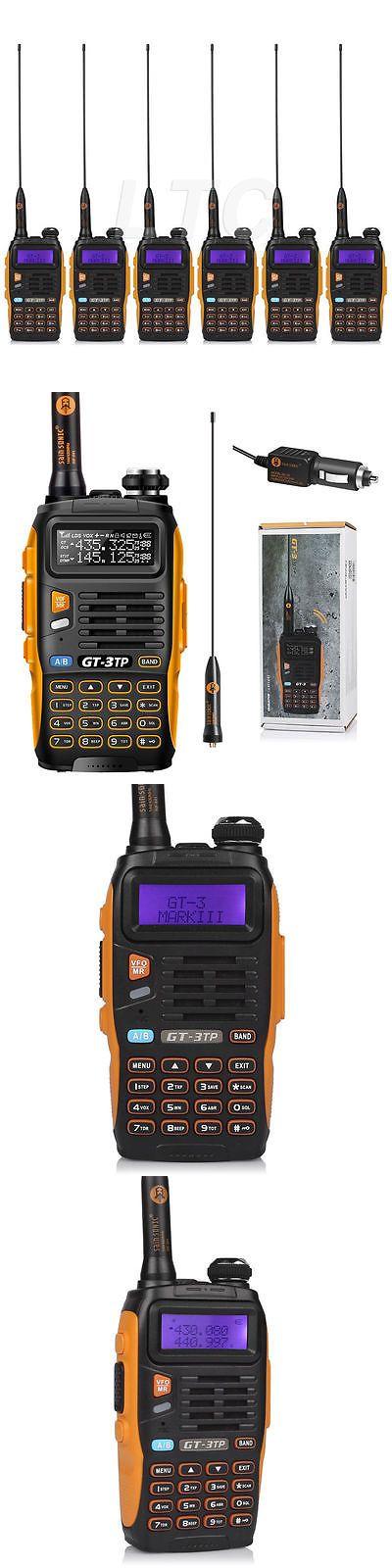 Walkie Talkies Two-Way Radios: Usa! 6X Baofeng Gt-3Tp Mark Iii V Uhf 1 4 8W Fm Walkie Talkie Ham Two-Way Radio -> BUY IT NOW ONLY: $189.99 on eBay!