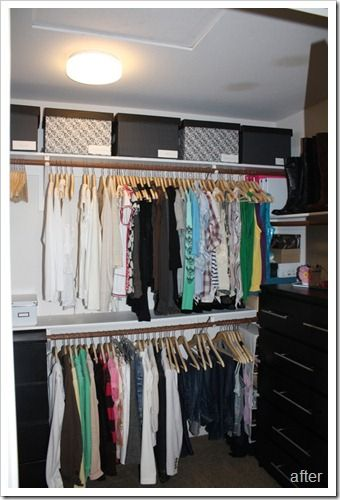 Attractive How To Organize Your Closet On A Budget.