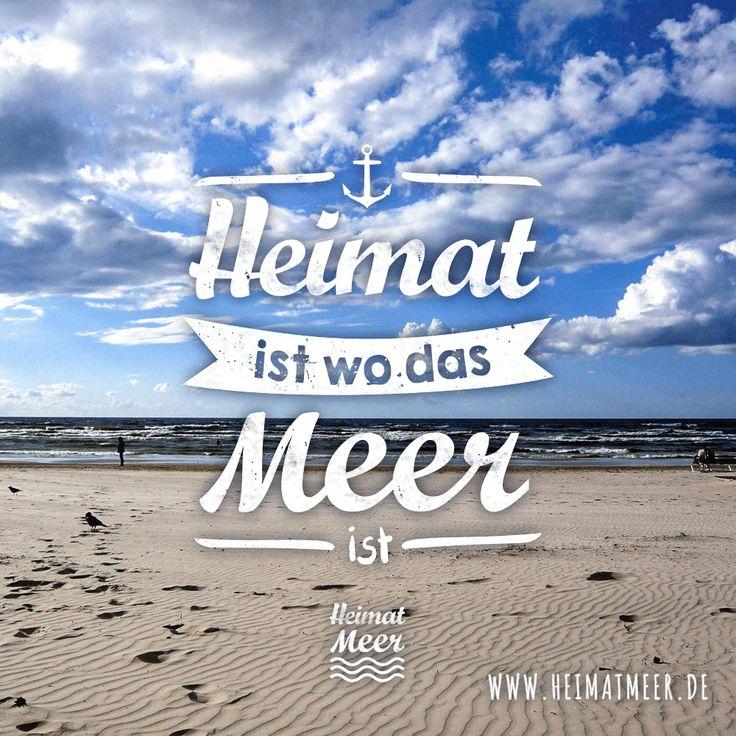 Meine Heimat - das Meer. Mee(h)r gibt es hier >