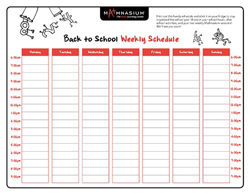 20 best School Schedule Ideas images on Pinterest School - class timetable template