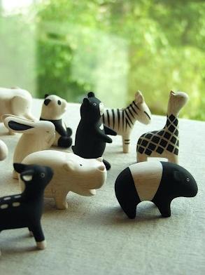 Wood Animals