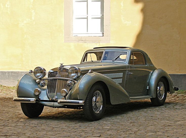 Horch 853 Stromlinien Coupe / Erdmann & Rossi 1937
